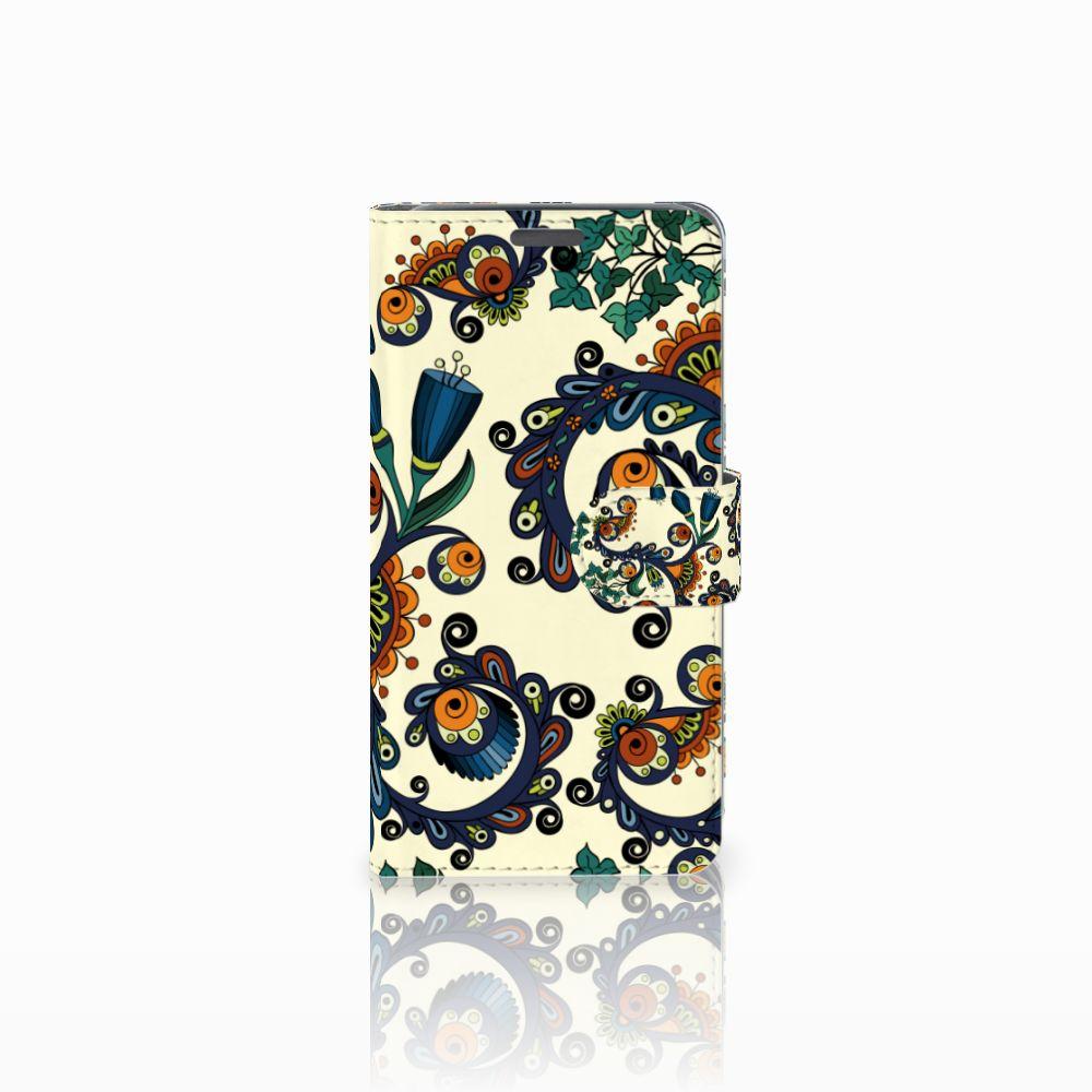 Wiko Lenny Boekhoesje Design Barok Flower