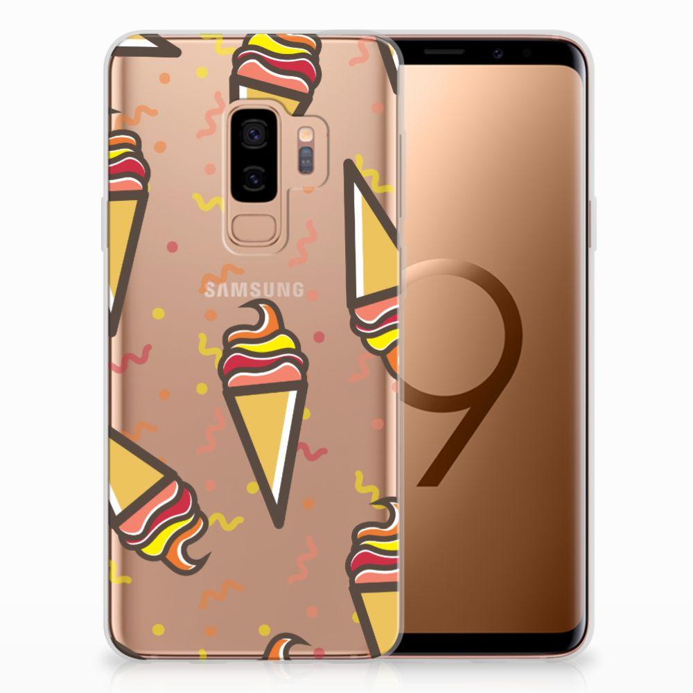 Samsung Galaxy S9 Plus Siliconen Case Icecream