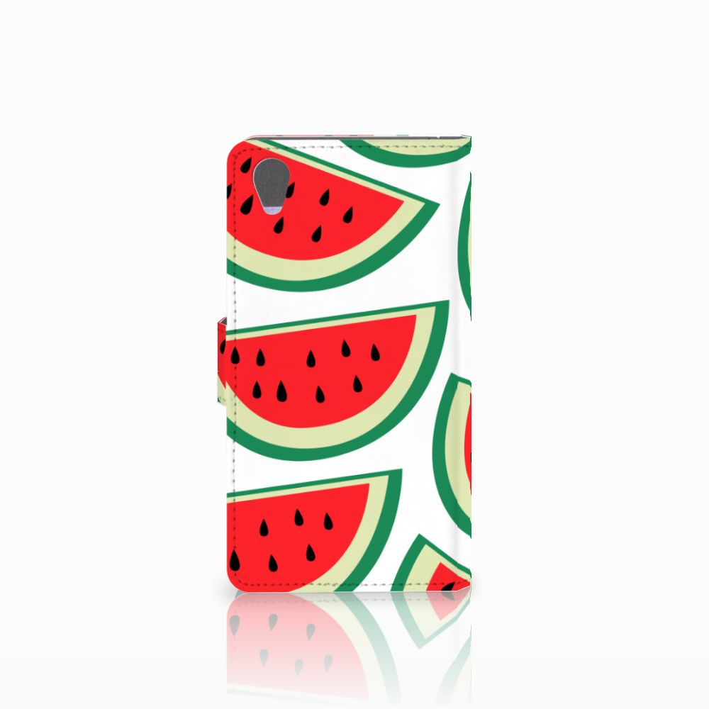 Sony Xperia Z1 Book Cover Watermelons