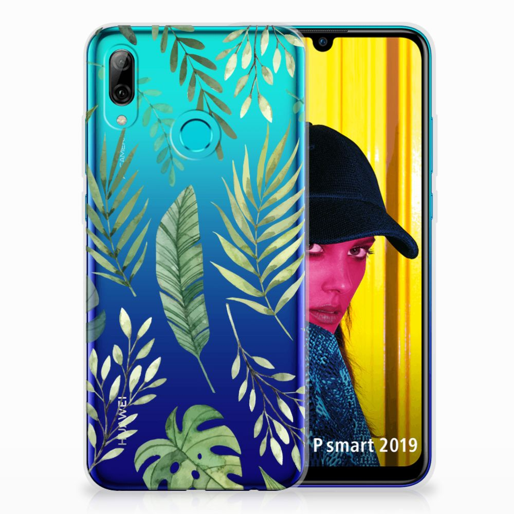 Huawei P Smart 2019 TPU Case Leaves