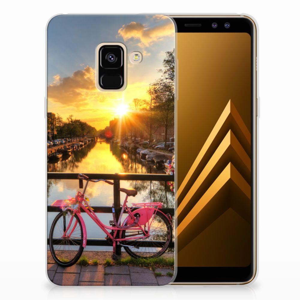 Samsung Galaxy A8 (2018) Uniek TPU Hoesje Amsterdamse Grachten