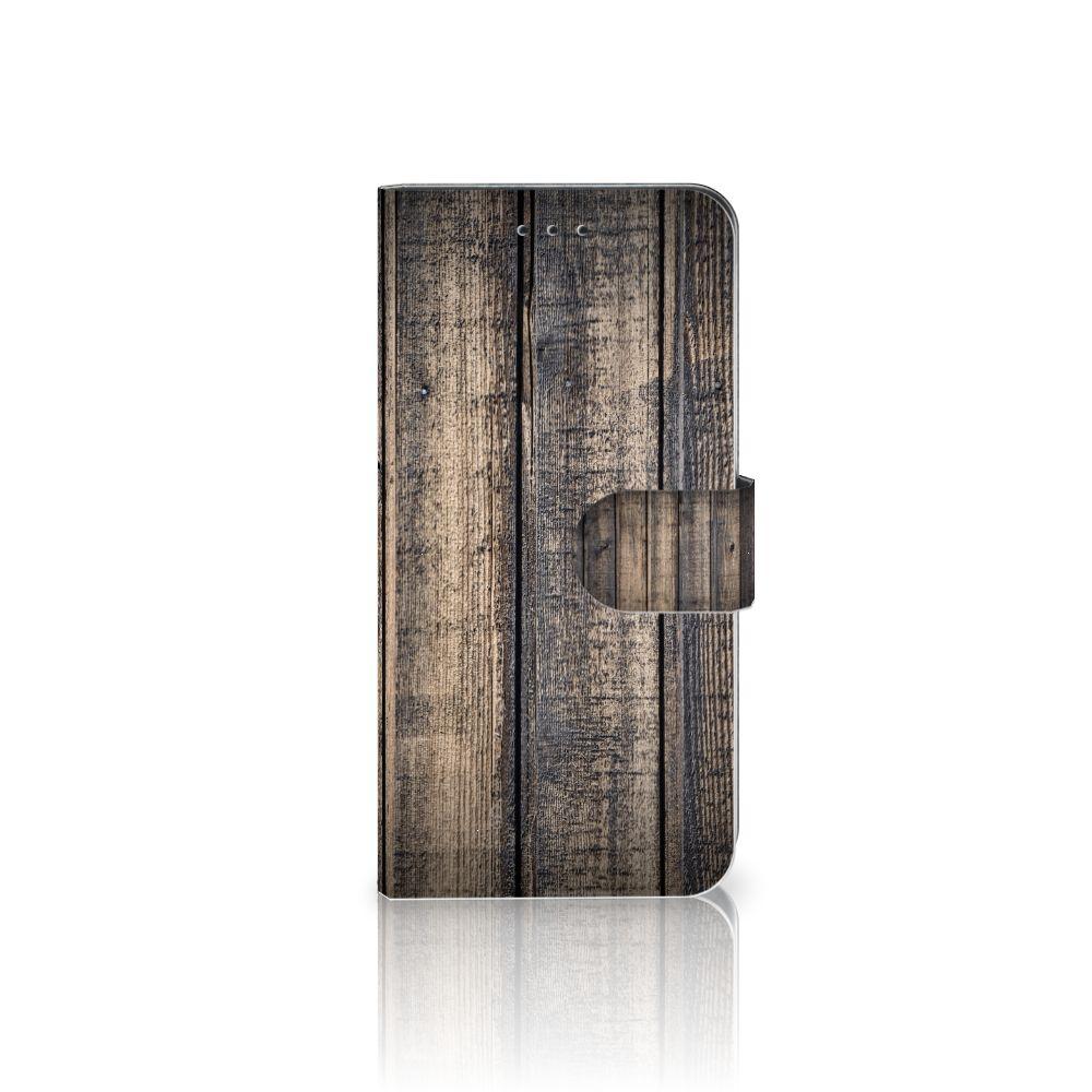 Nokia 7.1 Boekhoesje Design Steigerhout