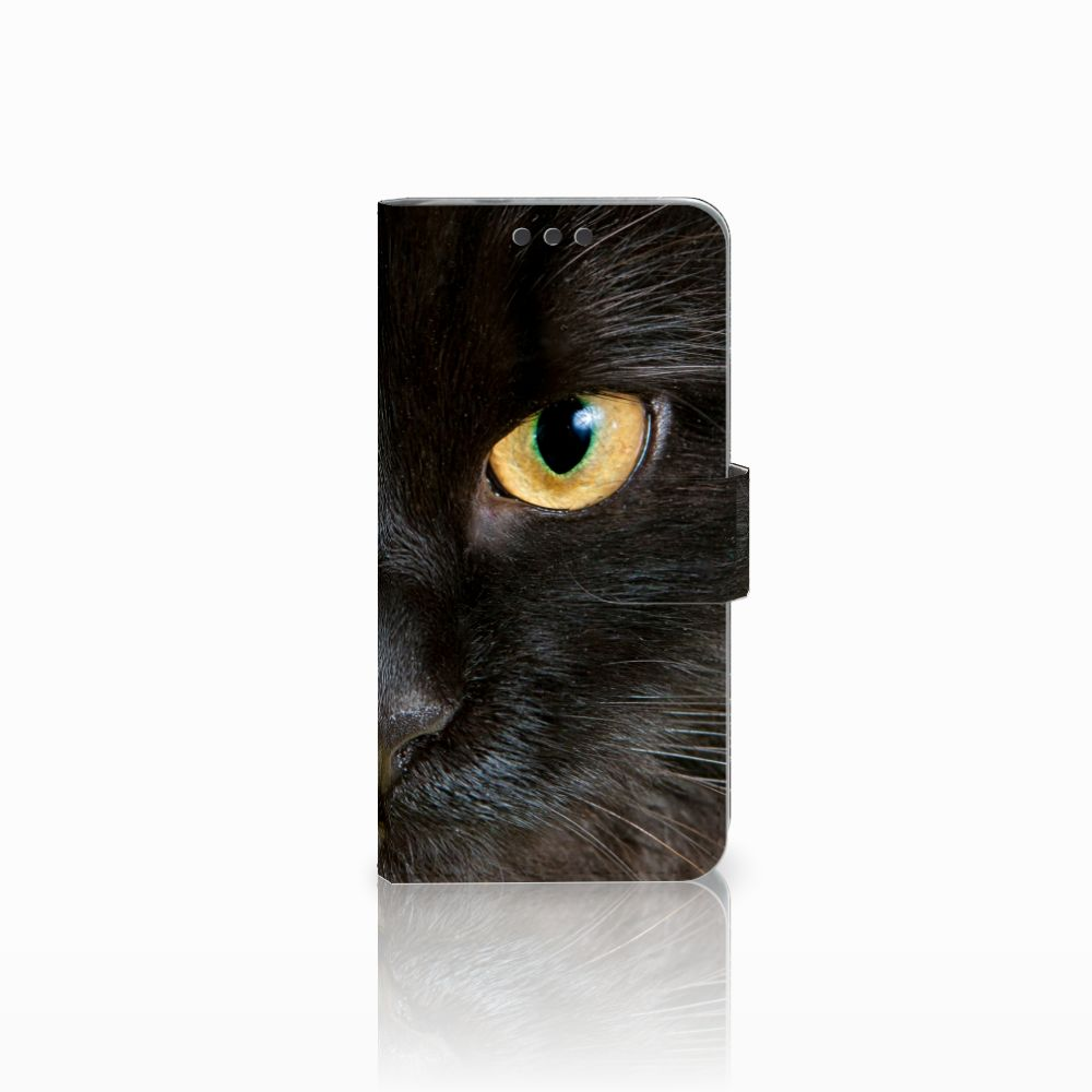 Microsoft Lumia 650 Uniek Boekhoesje Zwarte Kat