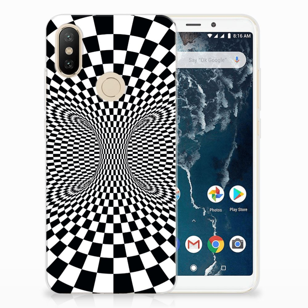 Xiaomi Mi A2 TPU Hoesje Illusie