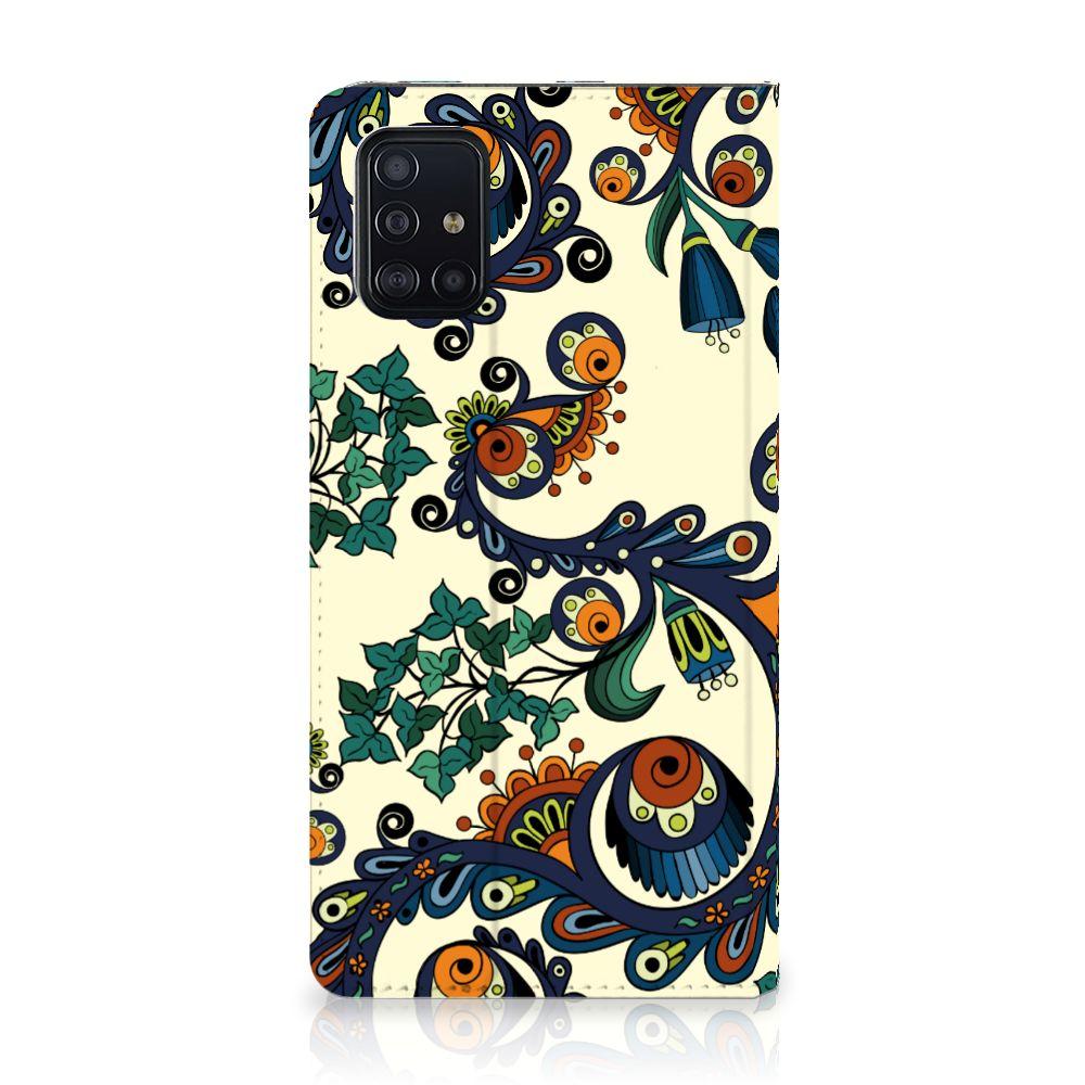 Telefoon Hoesje Samsung Galaxy A51 Barok Flower