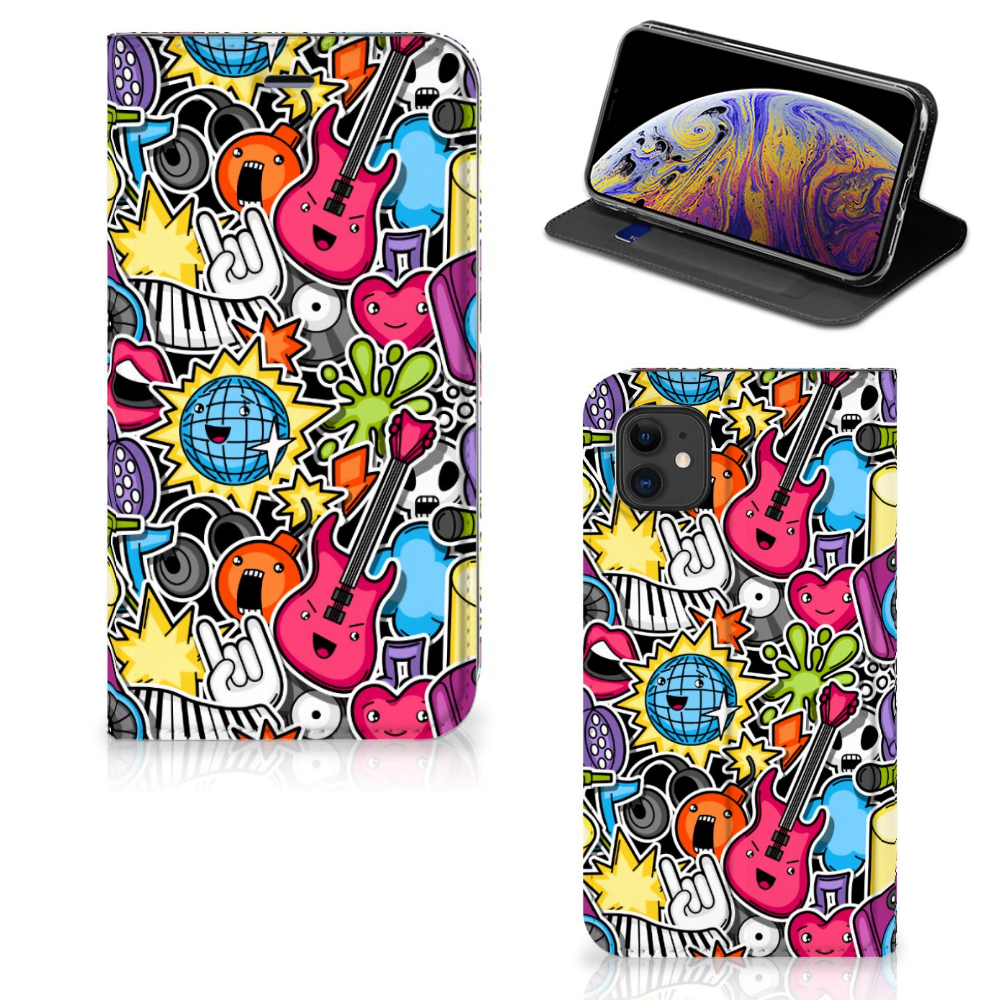 Apple iPhone 11 Hippe Standcase Punk Rock
