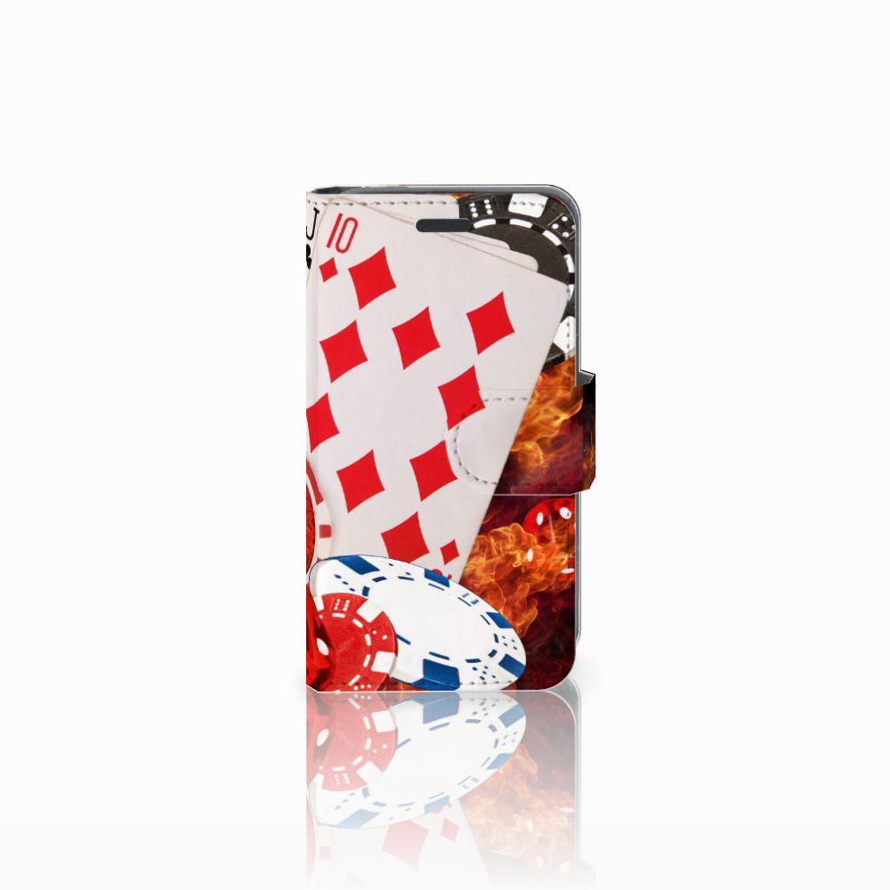 Nokia Lumia 520 Uniek Boekhoesje Casino