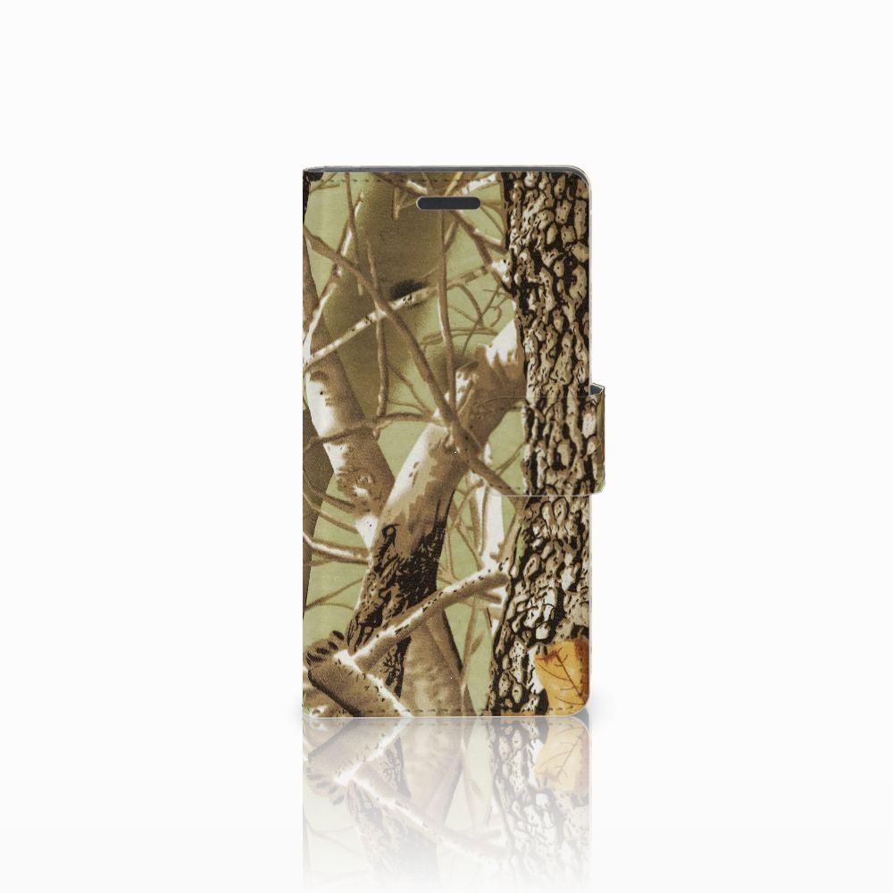 Nokia Lumia 830 Uniek Hoesje met Opbergvakjes Camouflage