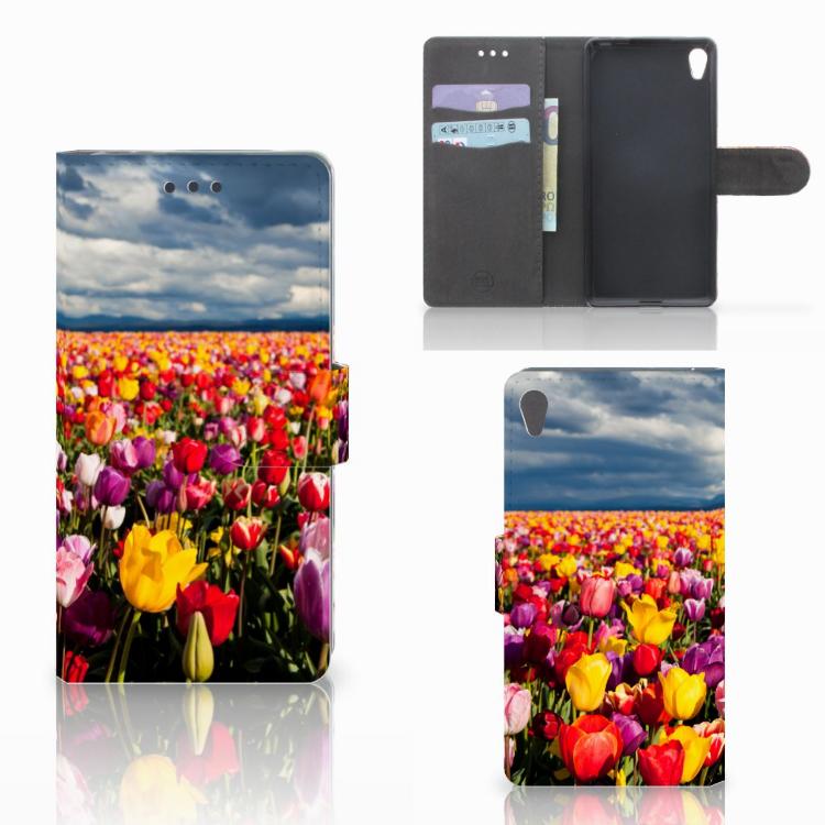 Sony Xperia E5 Hoesje Tulpen