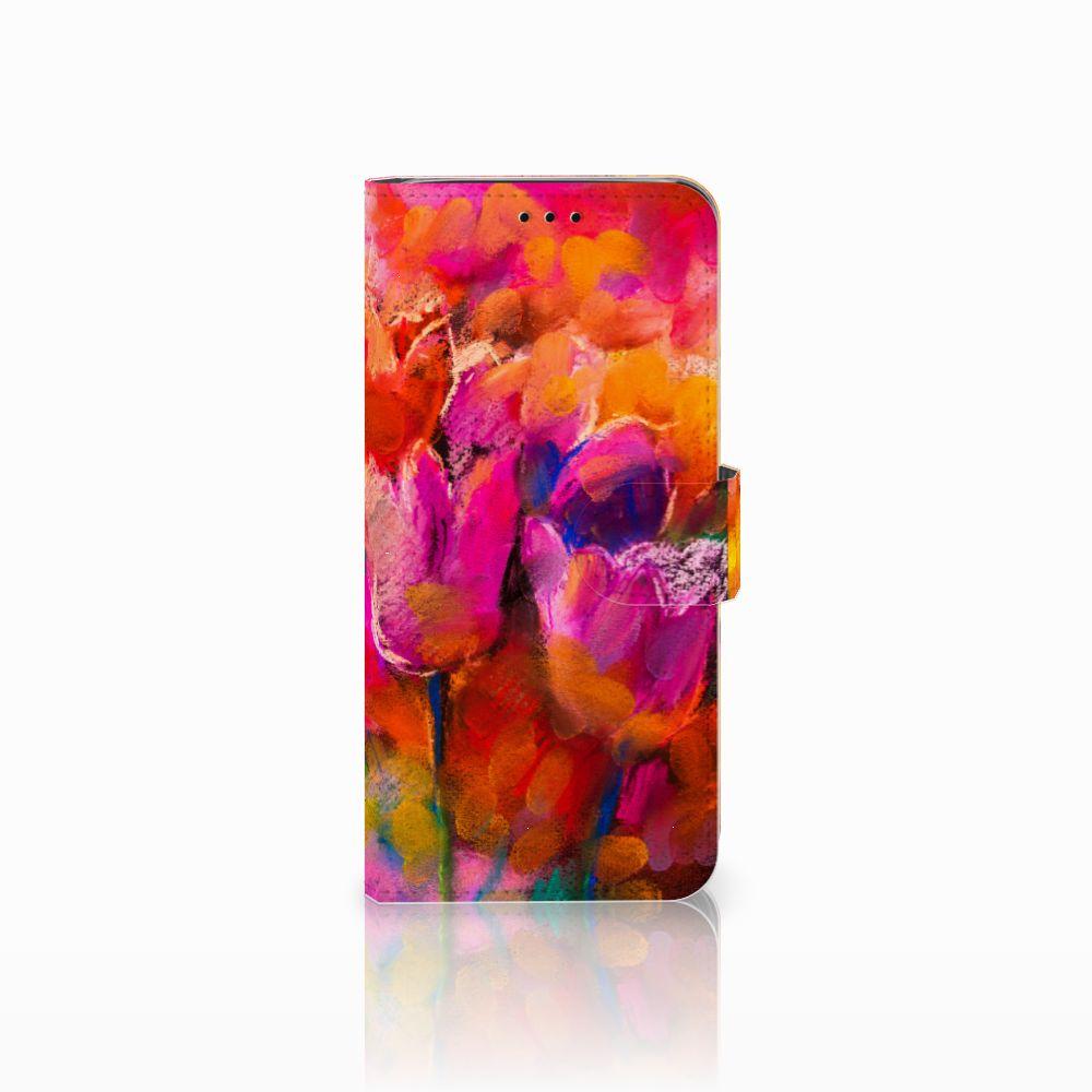 Samsung Galaxy J6 2018 Boekhoesje Design Tulips