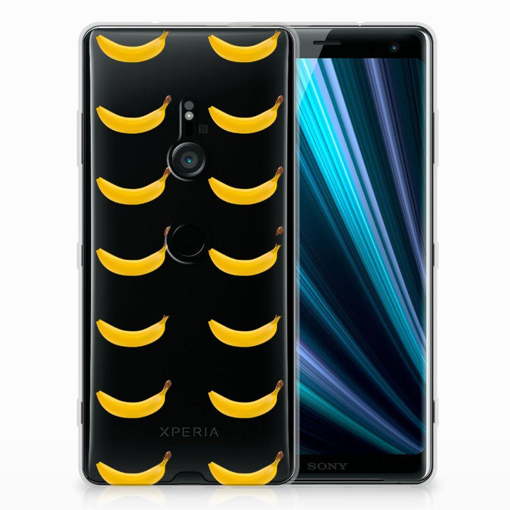 Sony Xperia XZ3 Siliconen Case Banana