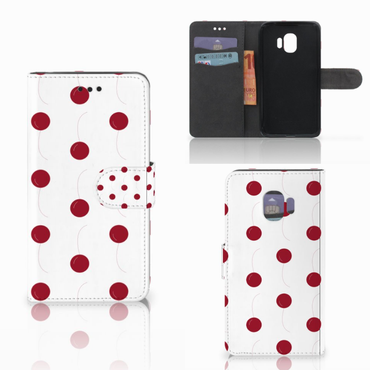 Samsung Galaxy J2 Pro 2018 Book Cover Cherries