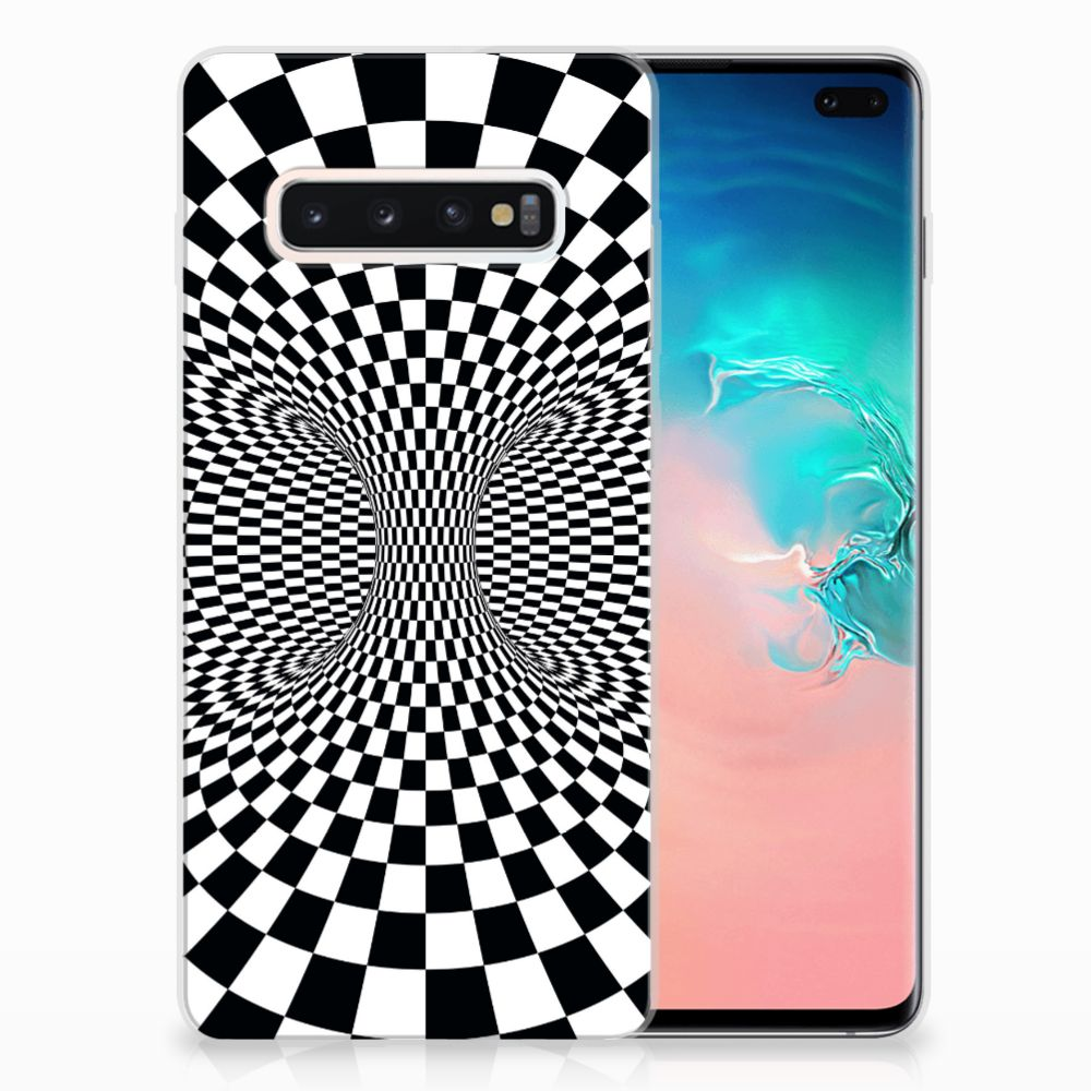 Samsung Galaxy S10 Plus TPU Hoesje Illusie