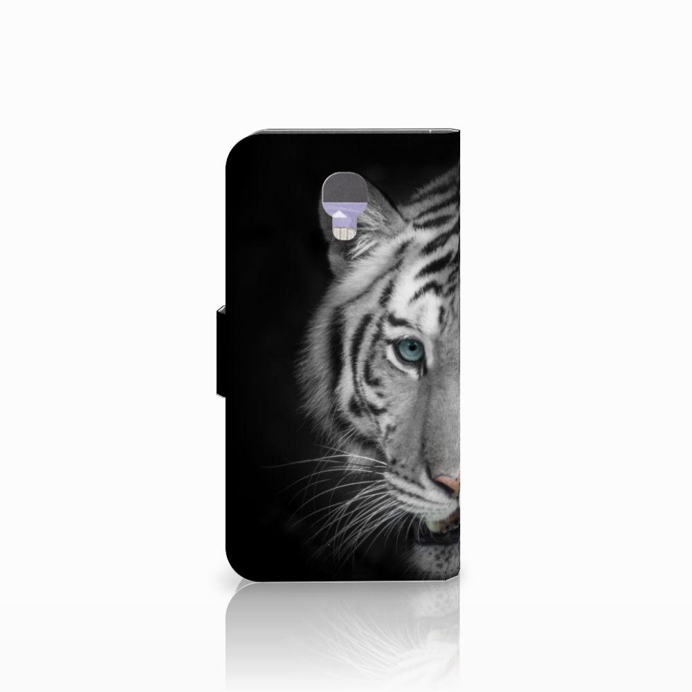 LG X Screen Telefoonhoesje met Pasjes Tijger