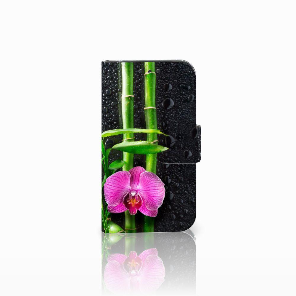 Lenovo B Boekhoesje Design Orchidee