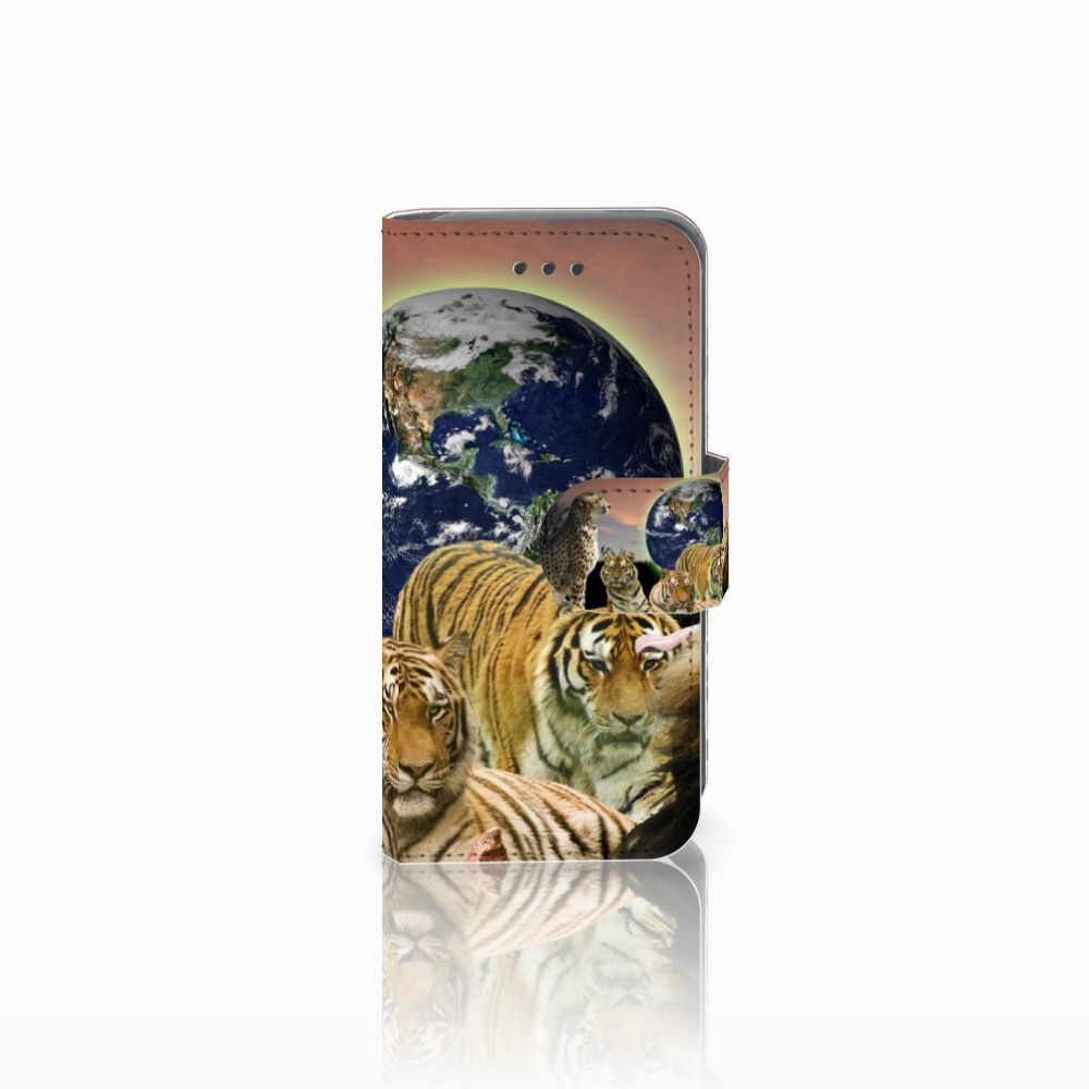 Apple iPod Touch 5 | 6 Boekhoesje Design Roofdieren