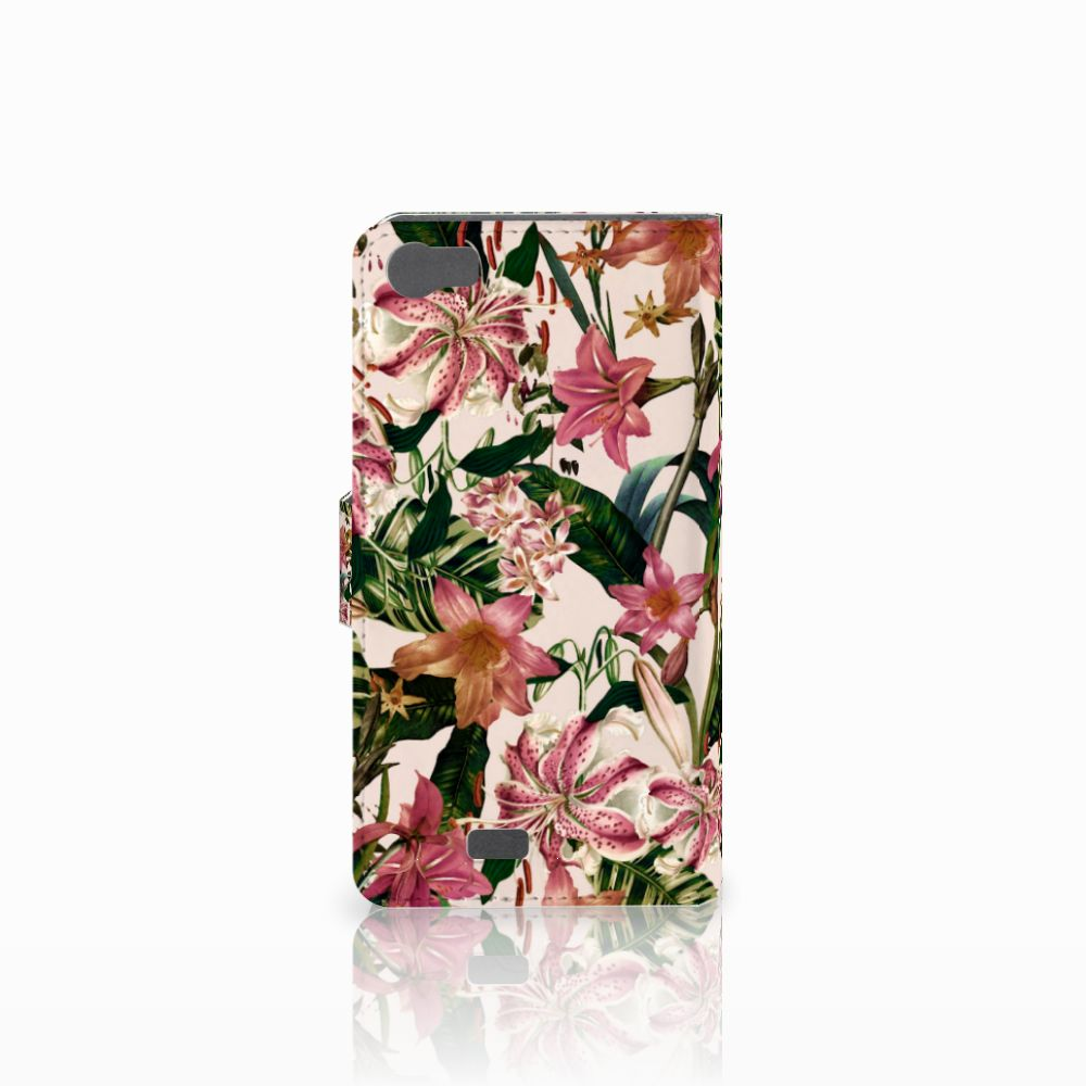 Wiko Lenny Hoesje Flowers