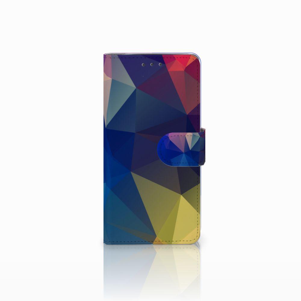 Motorola Moto X4 Bookcase Polygon Dark