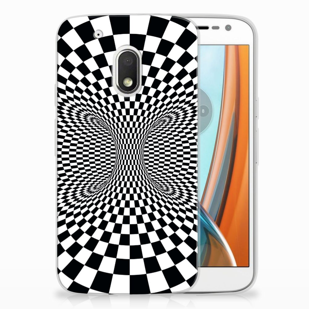 Motorola Moto G4 Play TPU Hoesje Design Illusie