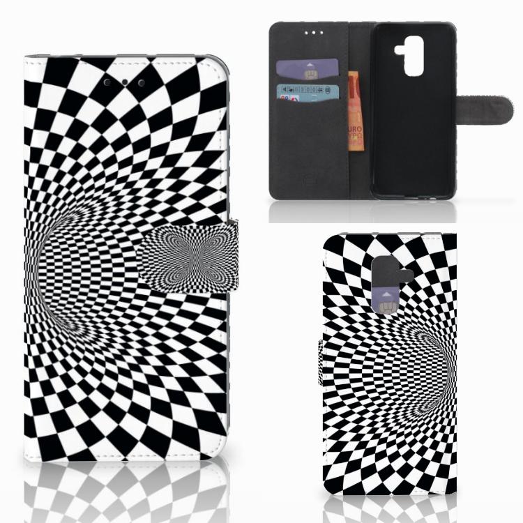 Samsung Galaxy A6 Plus 2018 Bookcase Illusie