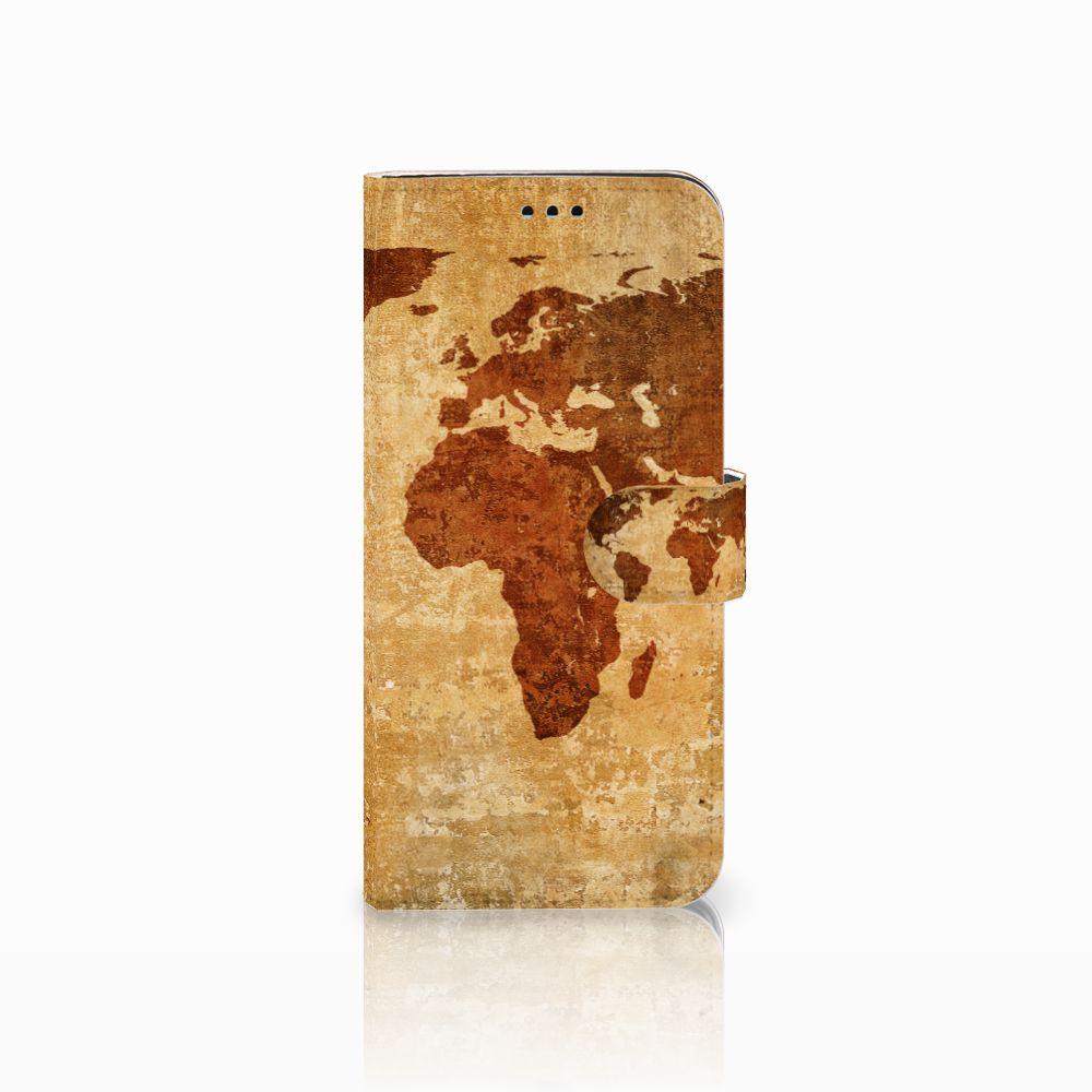 Samsung Galaxy S9 Plus Boekhoesje Design Wereldkaart
