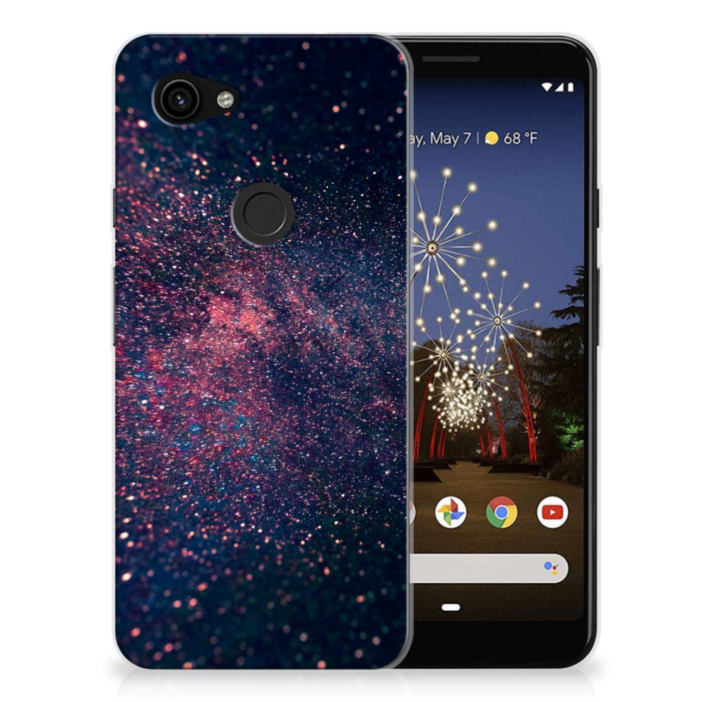 Google Pixel 3A TPU Hoesje Stars