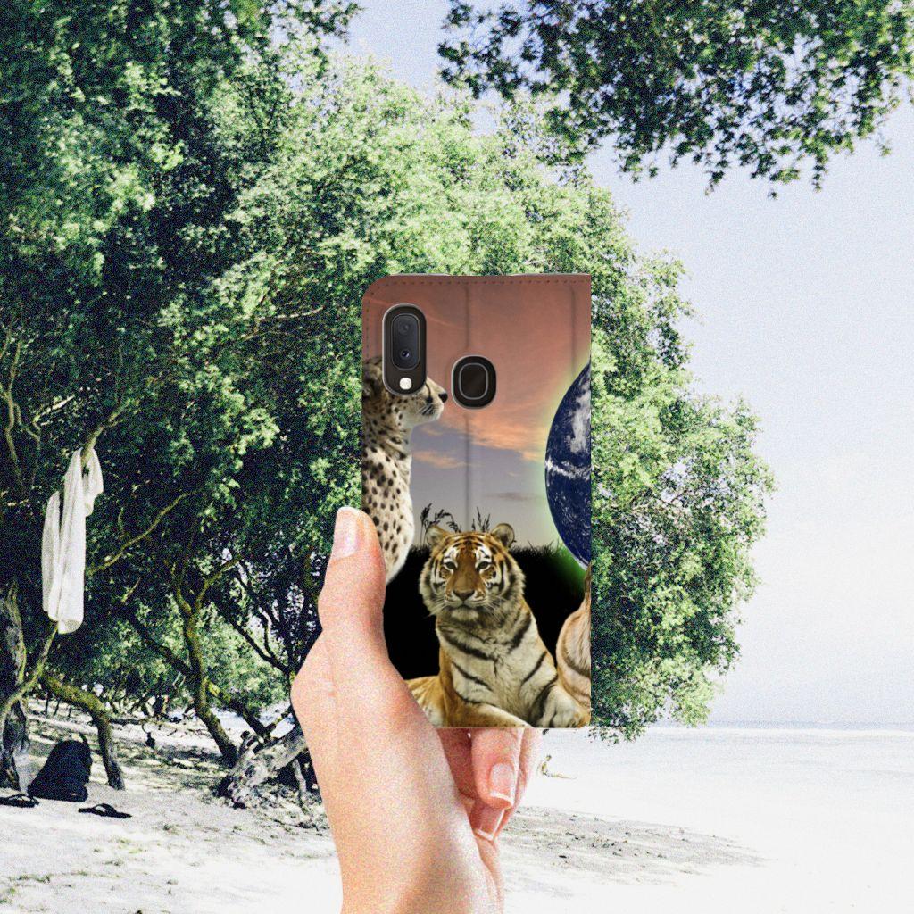 Samsung Galaxy A20e Hoesje maken Roofdieren