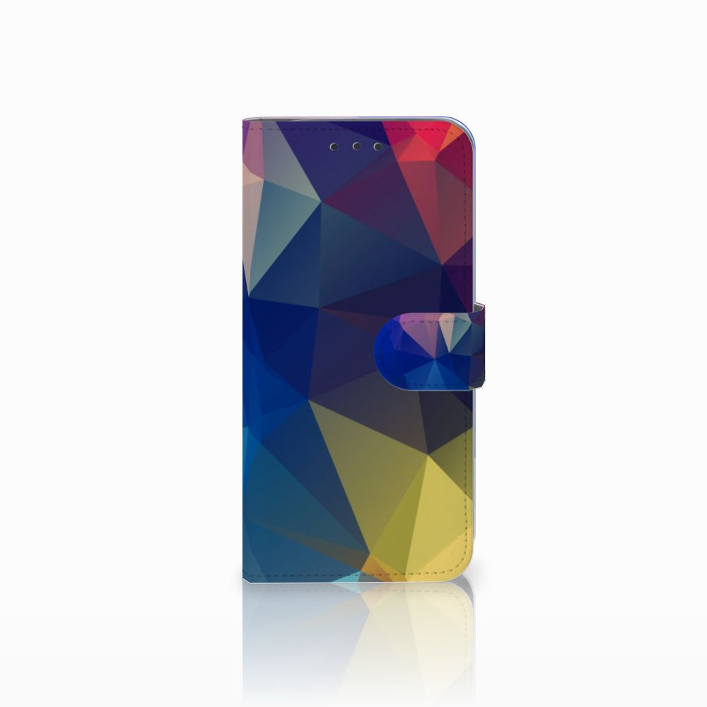 Motorola Moto G6 Play Bookcase Polygon Dark