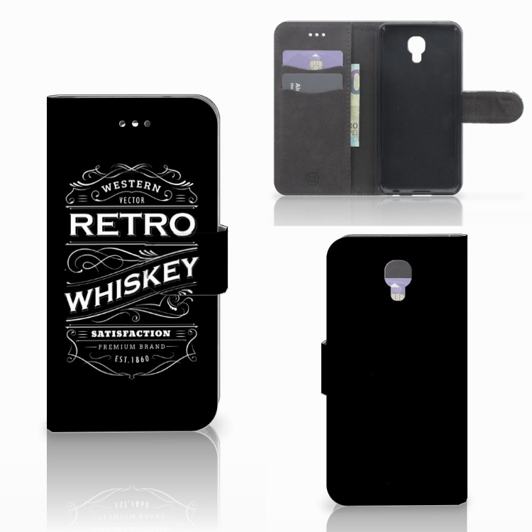 LG X Screen Book Cover Whiskey