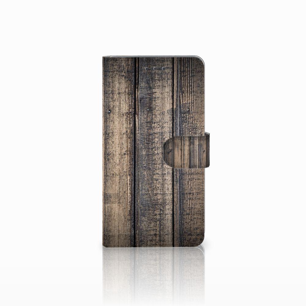 Huawei Honor 5X Boekhoesje Design Steigerhout