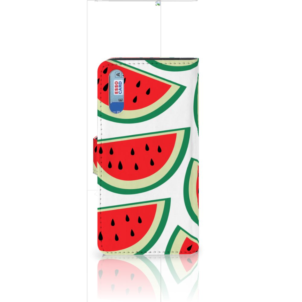 Huawei P20 Book Cover Watermelons