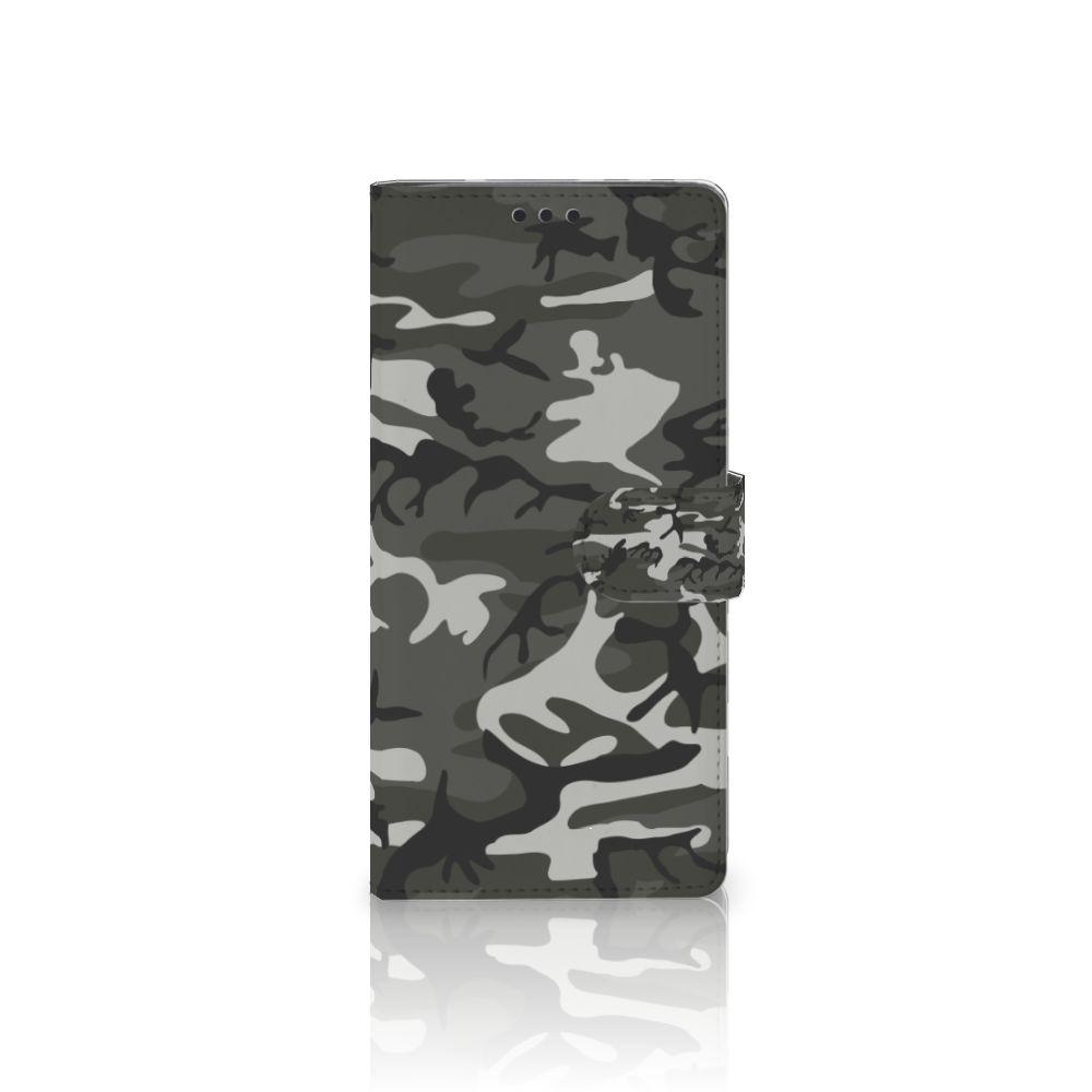 Sony Xperia XA Ultra Uniek Boekhoesje Army Light