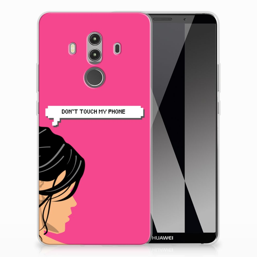 Huawei Mate 10 Pro Silicone-hoesje Woman DTMP