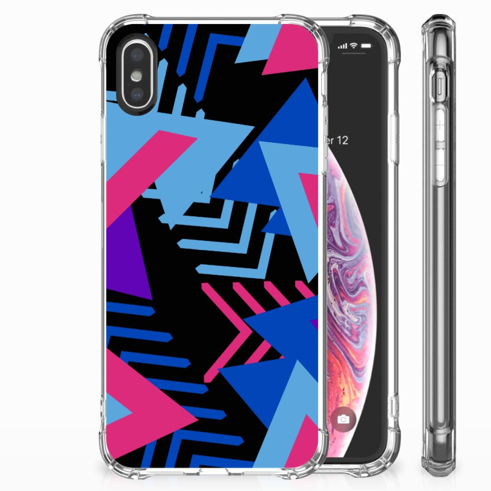 Apple iPhone X | Xs Shockproof Case Funky Triangle