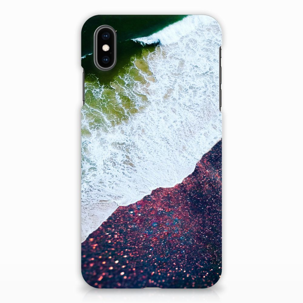 Apple iPhone Xs Max Rubber Case Sea in Space