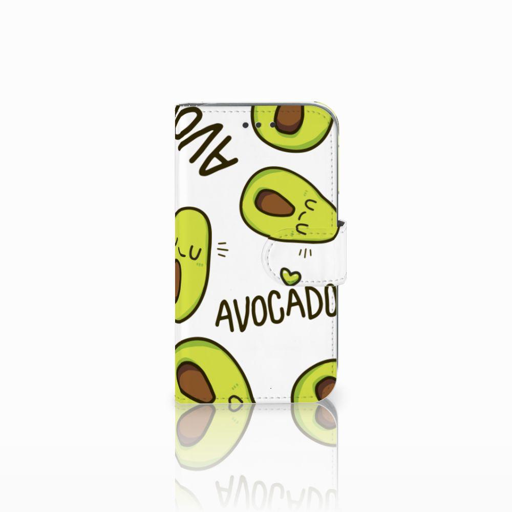 Samsung Galaxy Core Prime Uniek Boekhoesje Avocado Singing