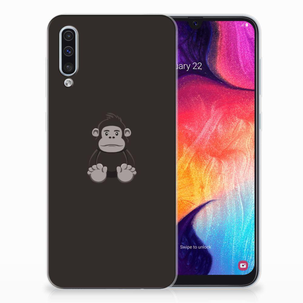Samsung Galaxy A50 Telefoonhoesje met Naam Gorilla