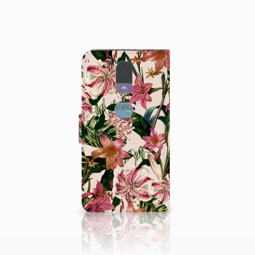 Motorola Moto G4   G4 Plus Hoesje Flowers