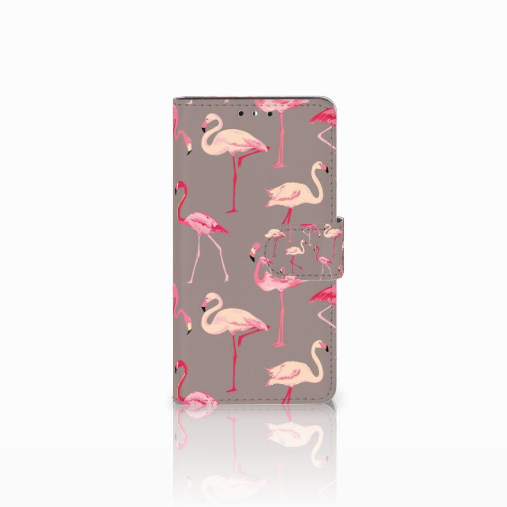 Huawei Y5 | Y6 2017 Uniek Boekhoesje Flamingo