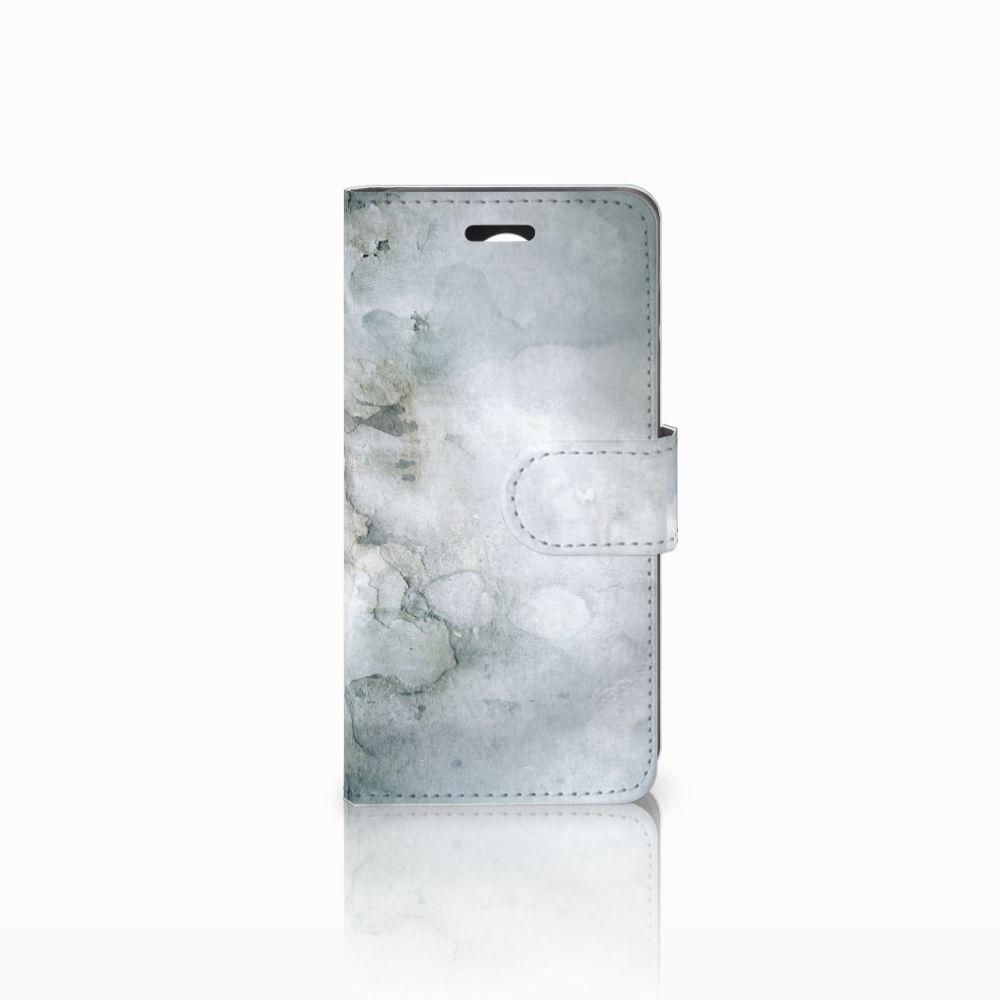 Huawei Y3 2 | Y3 II Uniek Boekhoesje Painting Grey