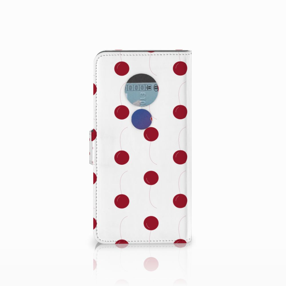 Motorola Moto E5 Book Cover Cherries