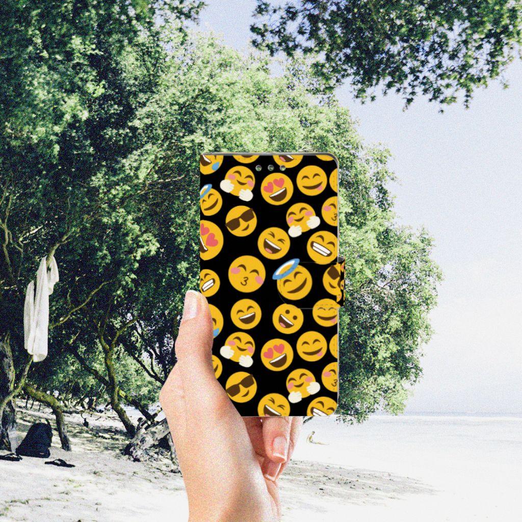 Sony Xperia XZ1 Telefoon Hoesje Emoji