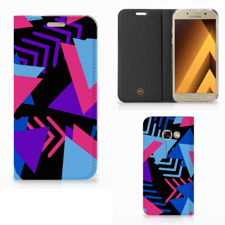 Samsung Galaxy A3 2017 Stand Case Funky Triangle