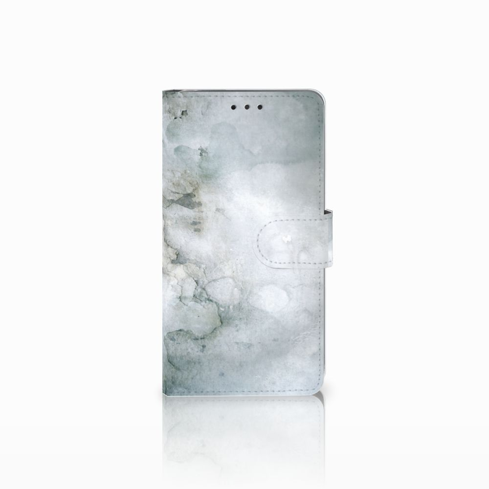 LG G4 Uniek Boekhoesje Painting Grey