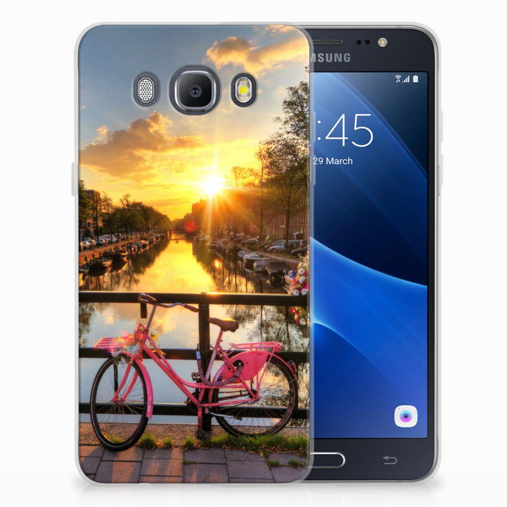 Samsung Galaxy J5 2016 Uniek TPU Hoesje Amsterdamse Grachten