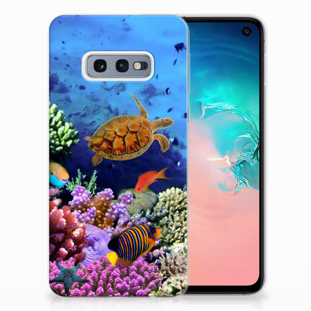Samsung Galaxy S10e TPU Hoesje Design Vissen