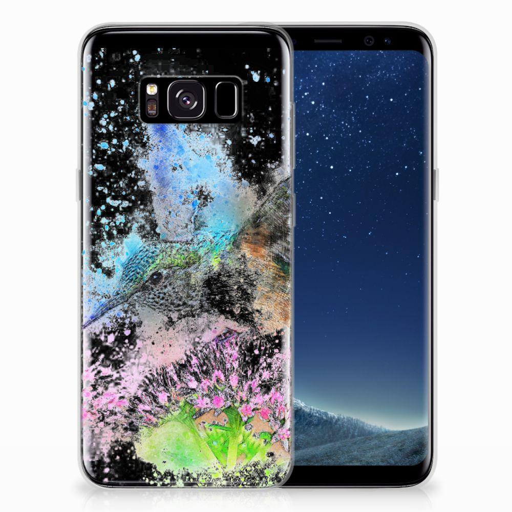 Hoesje maken Samsung Galaxy S8 Vogel