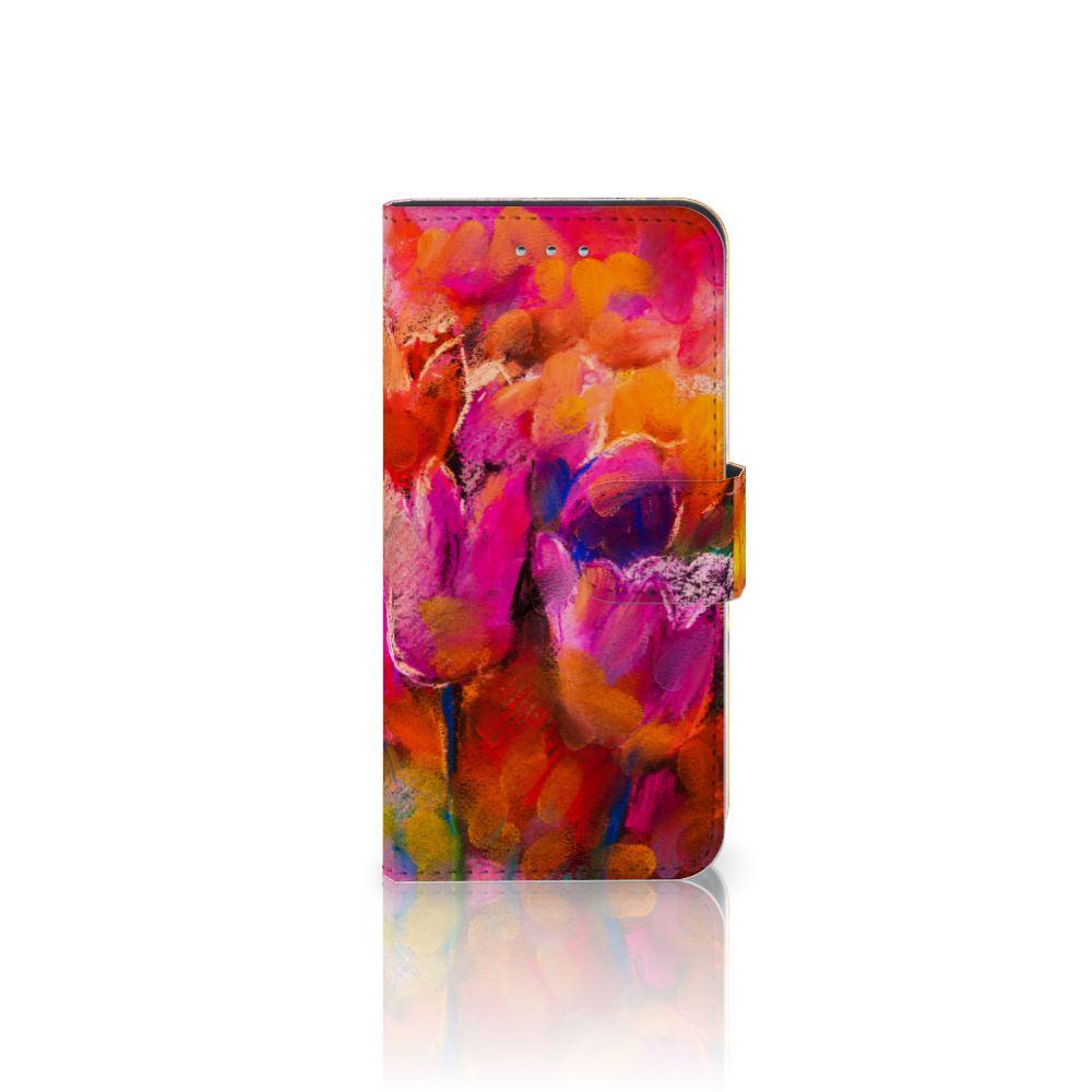 Samsung Galaxy S6 | S6 Duos Boekhoesje Design Tulips