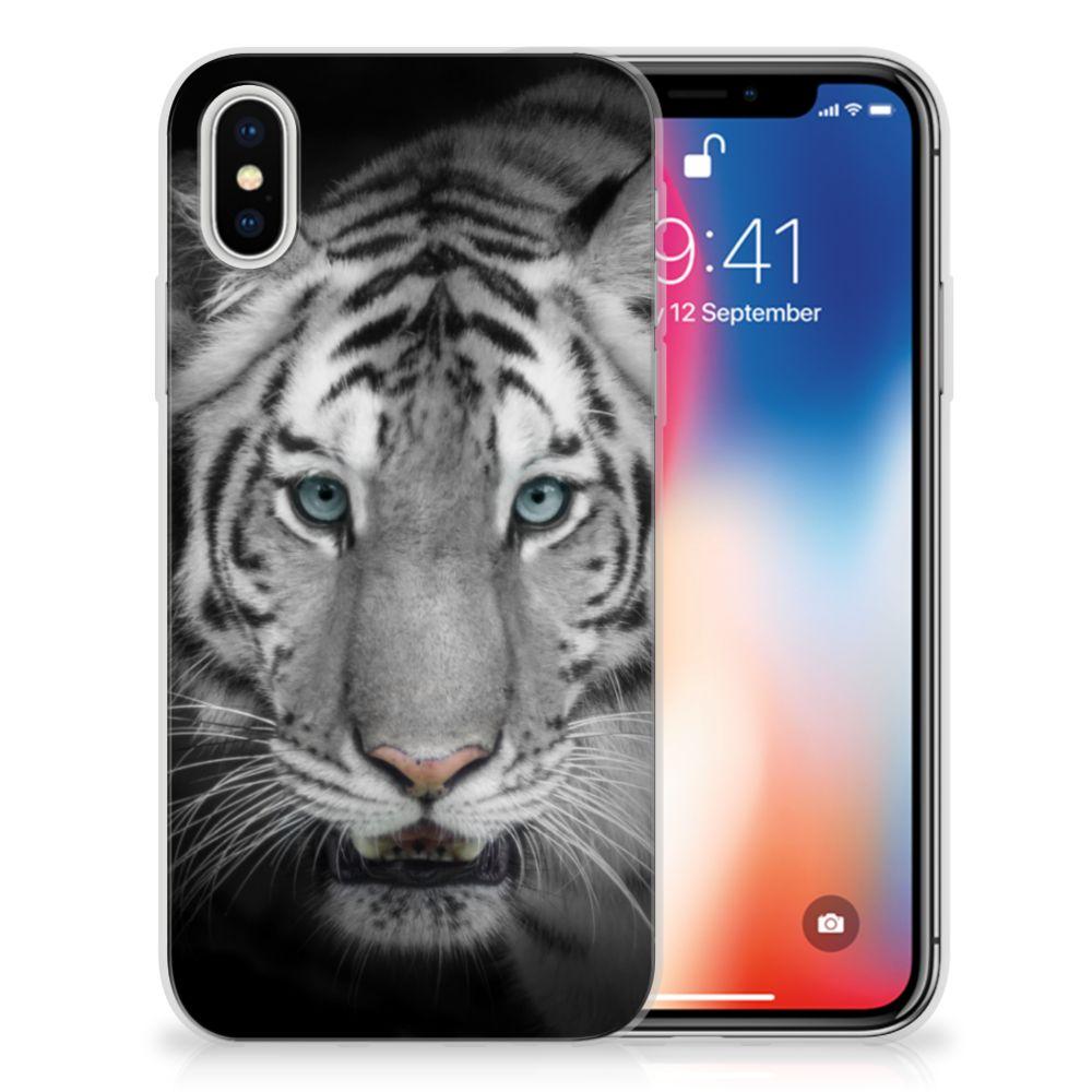Apple iPhone X | Xs TPU Hoesje Tijger