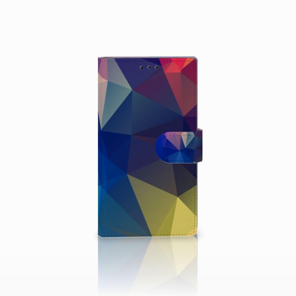 Sony Xperia L2 Bookcase Polygon Dark